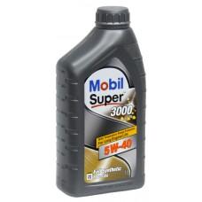 Масло моторное Mobil SUPER 3000 X1 5w-40 1л