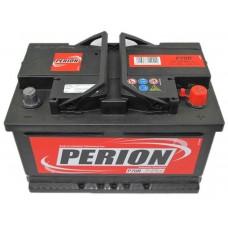 Аккумулятор автомобильный 6СТ-72 PERION  680А оп, низкий